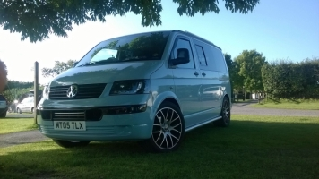 <h5>Munich - VW Transporter T5</h5>