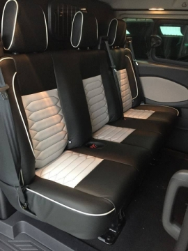 <h5>Ford Transit Interior</h5>