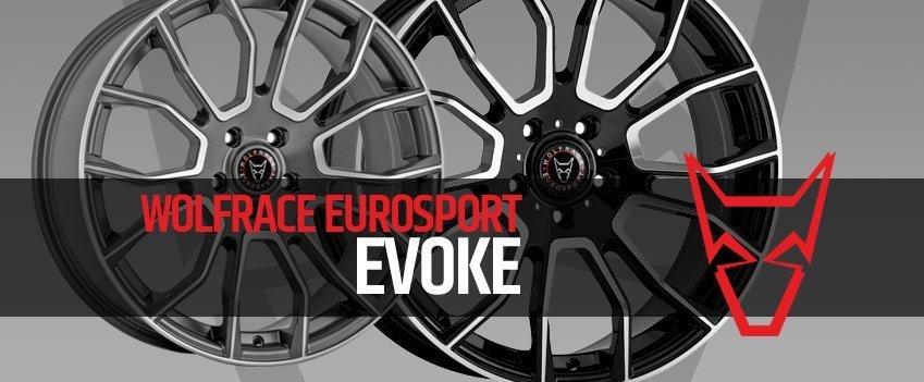 New Wolfrace Eurosport Evoke 8.5×20″