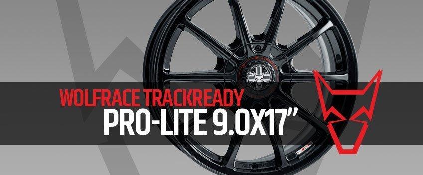New Wolfrace TrackReady Pro-Lite 9.0×17″