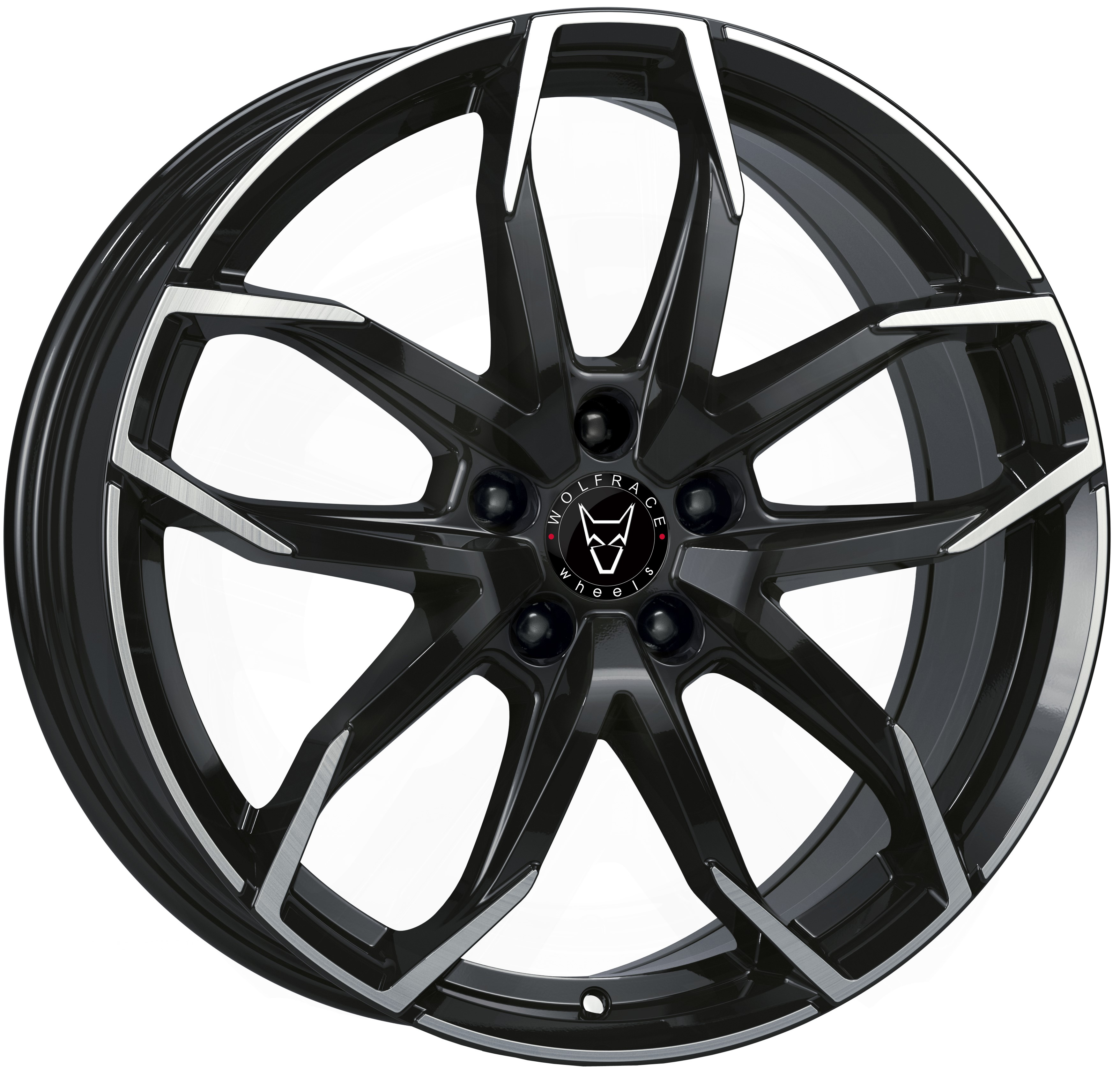 Wolfrace GB Lucca Gloss Black / Polished