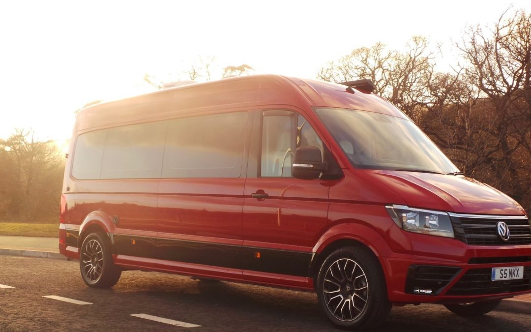 RECRAFTING THE VW CRAFTER WITH WOLFRACE WHEELS