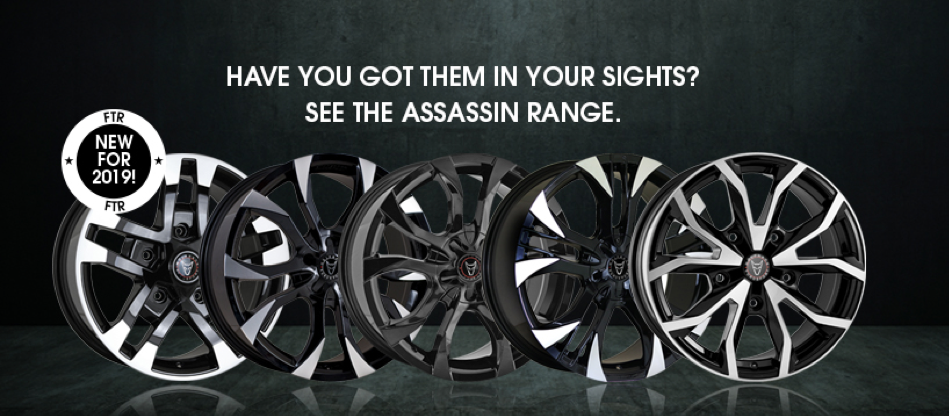 INTRODUCING OUR NEW AND IMPROVED WOLFRACE EUROSPORT ASSASSIN RANGE
