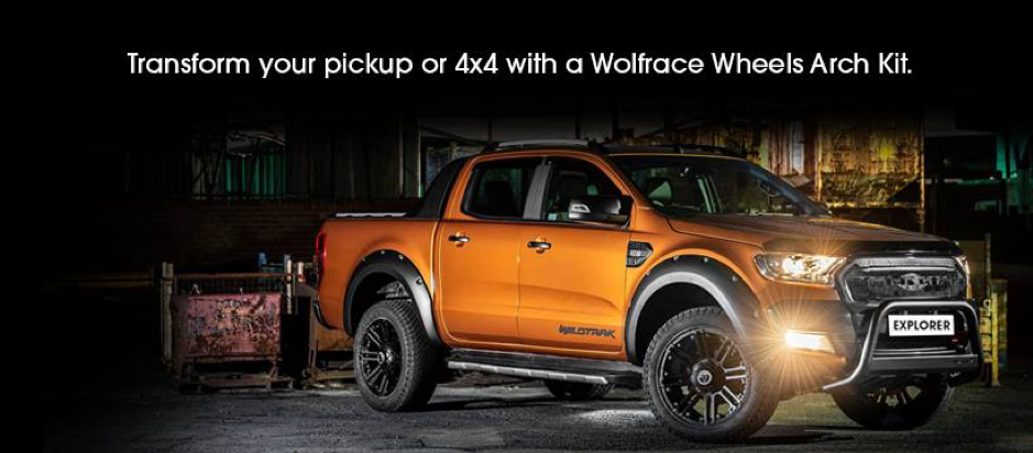 TRANSFORM YOUR PICKUP OR 4X4 WITH A WOLFRACE WHEELS ARCH KIT