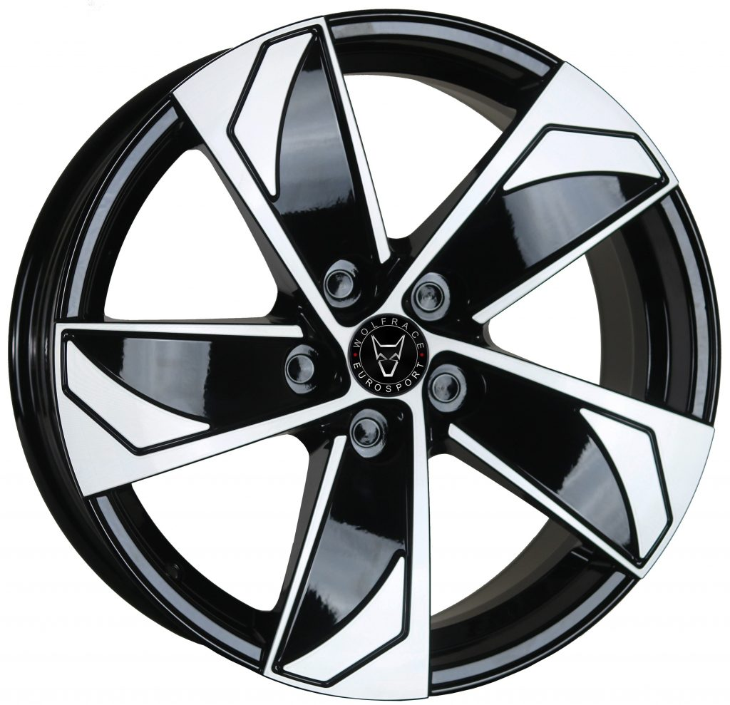 Wolfrace Eurosport - AD5T (Gloss Black / Polished)