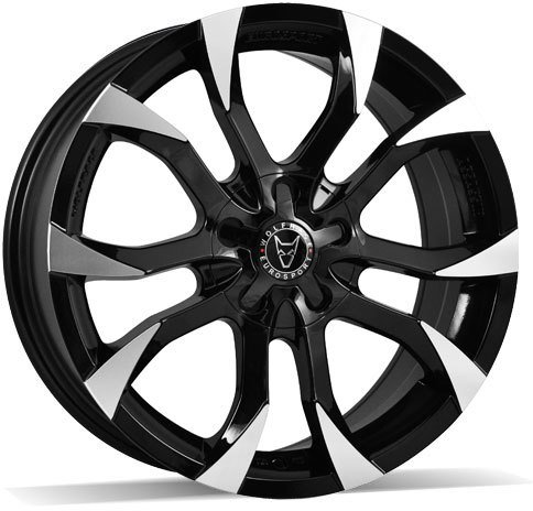 Wolfrace Eurosport - Assassin (Gloss Black / Polished)
