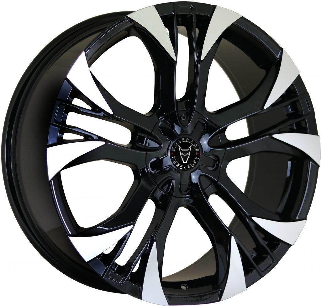 Wolfrace Eurosport - Assassin GT2 (Gloss Black / Polished)