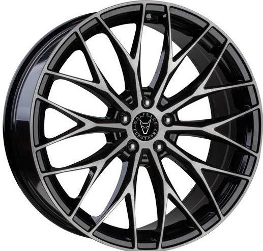 Wolfrace Eurosport - Wolfsburg (Gloss Black / Polished)