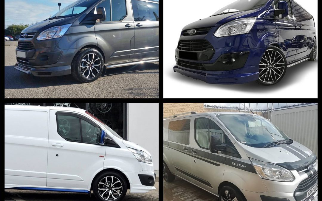 IMPROVE YOUR VAN STYLING WITH THESE WOLFRACE WHEELS FOR FORD TRANSIT