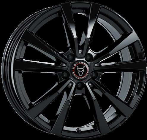 Wolfrace Eurosport - M12 (Diamond Black)
