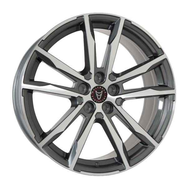 Alloy Wheels Dortmund gunmetal polished