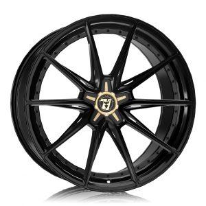 Alloy Wheels Wolfrace 71 Luxury Urban Racer Gloss Raven Black