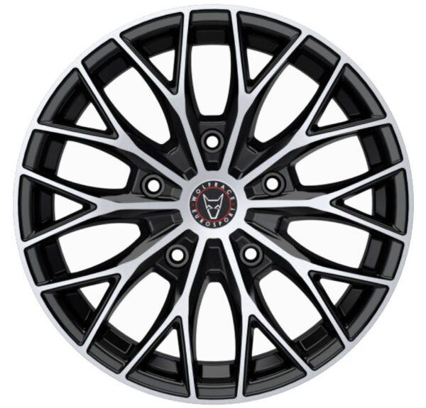 Alloy Wheels Wolfrace Wolfsburg-Super-T-Gloss-Black-Polished