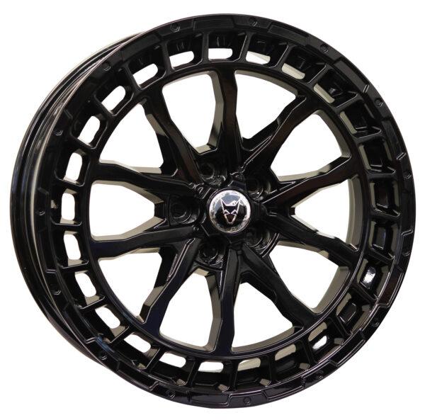 Alloy Wheels Wolfrace Explorer Wolf FTC LRD Gloss Black