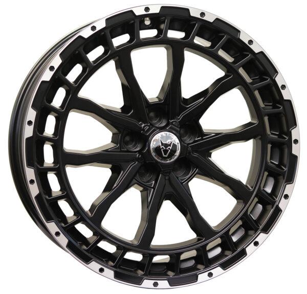 Alloy Wheels Wolfrace Explorer Wolf FTC LRD Gloss Black Polished
