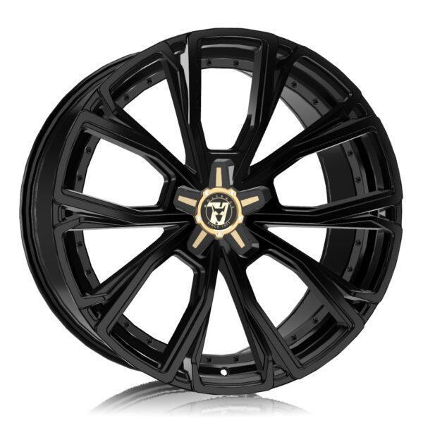 Alloy Wheels Wolfrace 71 Luxury Matrix Gloss Raven Black