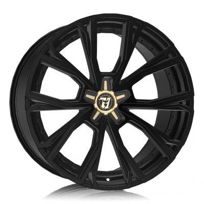 Alloy Wheels Wolfrace 71 Luxury Matrix Satin Raven Black