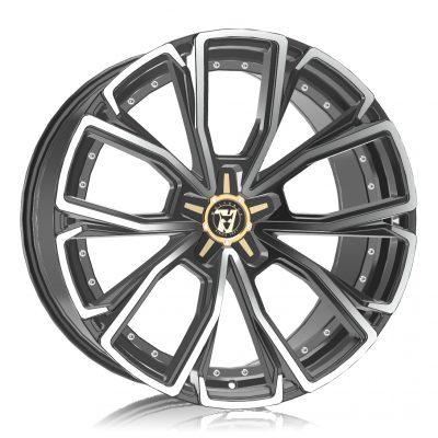 Alloy Wheels Wolfrace 71 Luxury Matrix Titanium Polished