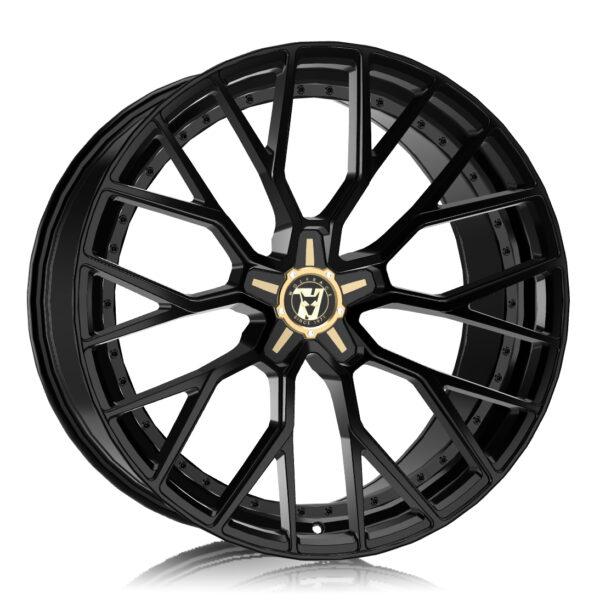 Alloy Wheels Wolfrace 71 Luxury Munich GTR Gloss Raven Black