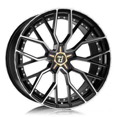 Alloy Wheels Wolfrace 71 Luxury Munich GTR Gloss Raven Black Polished