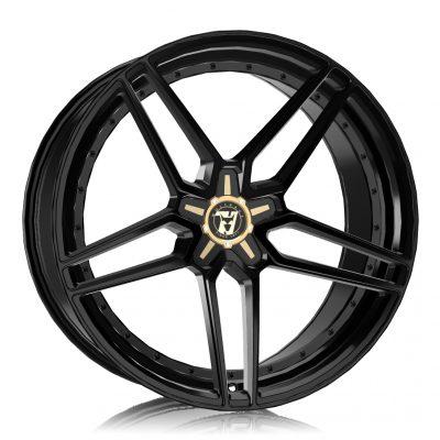 Alloy Wheels Wolfrace 71 Luxury Talon Gloss Raven Black