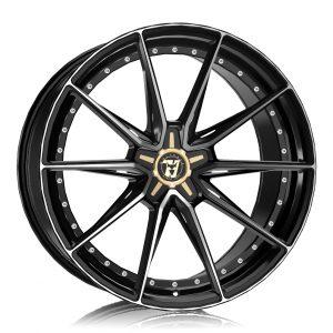Alloy Wheels Wolfrace 71 Luxury Urban Racer Gloss Raven Black Polished