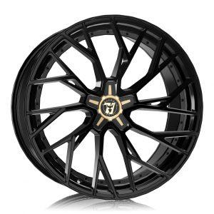 Alloy Wheels Wolfrace 71 Luxury Voodoo Gloss Raven Black