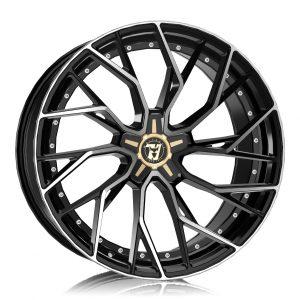 Alloy Wheels Wolfrace 71 Luxury Voodoo Gloss Raven Black Polished
