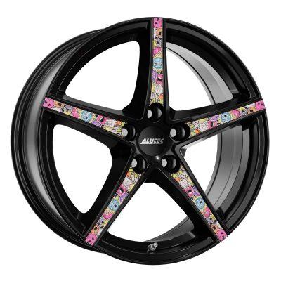 Alloy Wheels alutec raptr racing black mit stickerbomb