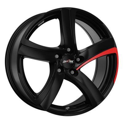 Alloy Wheels alutec sharkracing black pad-red